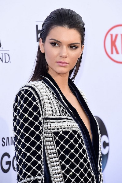 Kendall Jenner acne scar care